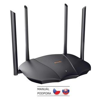 Tenda TX9 Pro AX3000 WiFi6 Router, 1x GWAN, 3x GLAN, IPv6, 4x 6dBi, MU-MIMO, WPA3, Alexa,CZ app