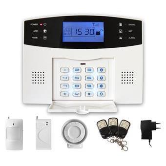 iGET SECURITY M2B - bezdrátový GSM alarm CZ, při poplachu zasílá SMS/telefonuje, záložní baterie