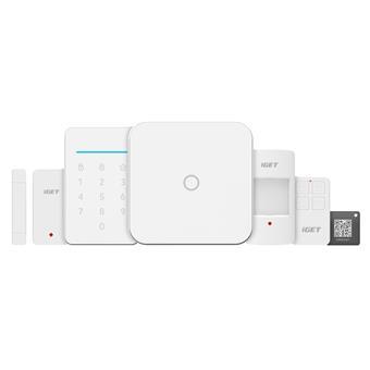 iGET SECURITY M4 - Inteligentní WiFi alarm, ovládání IP kamer a zásuvek, záloha GSM, Android, iOS