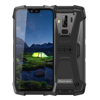"iGET Blackview GBV9700 Pro Black odolný, 5,8"" FHD, 6GB+128GB, DualSIM, 4G, IP69K, + kamera zdarma!"