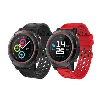 "iGET ACTIVE A8 - chytré hodinky, IP68, GPS, BT4.0, 1,3"" displ., Multisport, 500mAh + 2x pásek"