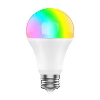 iGET SECURITY DP23 - WiFi LED žárovka E27, 8W, RGB+W, samostatná a pro iGET M4, stmívatelná,16 mil.