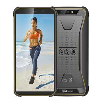 "iGET Blackview GBV5500 Plus Yellow odolný telefon, 5,5"" HD+, 3GB+32GB, DualSIM, 4G, 4400mAh, NFC"