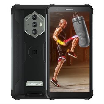 "iGET Blackview GBV6600 Black odolný telefon, 5,7"" HD+ IPS, 4GB+64GB, DualSIM, 4G, 8580 mAh, NFC"