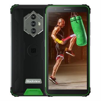 "iGET Blackview GBV6600 Green odolný telefon, 5,7"" HD+ IPS, 4GB+64GB, DualSIM, 4G, 8580 mAh, NFC"