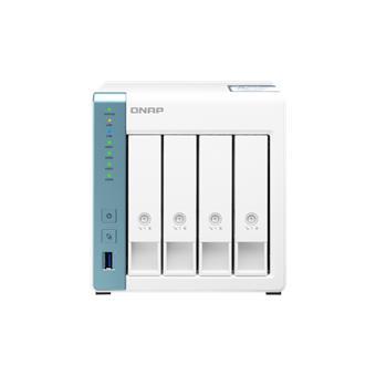 QNAP TS-431P3-4G (1,7GHz / 4GB RAM (až 8GB RAM) / 4x SATA / 1x GbE  / 1x 2,5GbE / 3x USB 3.2)