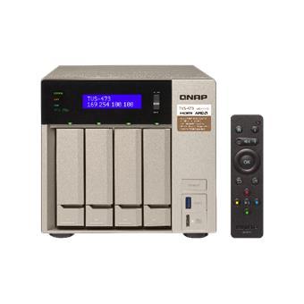 QNAP TVS-473-8G (2,1G/8GB RAM/4xSATA)