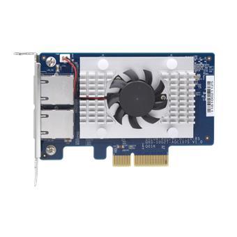 QNAP QXG-10G2T-107 - dvouportová rozšiřující 10GbE karta pro PC i QNAP NAS
