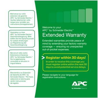 3 Year Extended Warranty, WEXTWAR3YR-SP-01A