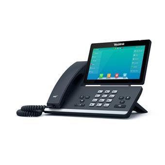 "Yealink SIP-T57W, IP tel., PoE, 7"" bar. LCD, 29 prog. tl., GigE, BT, WiFi"