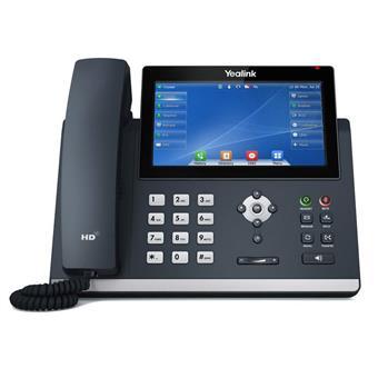"""Yealink SIP-T48U SIP telefon, PoE, 7"""" 800x480 LCD, 29 prog.tl.,2xUSB, GigE"""