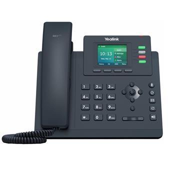 """Yealink SIP-T33G SIP telefon, PoE, 2,4"""" 320x240 barevný LCD, 4 x SIP úč., GigE"""