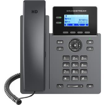 "Grandstream GRP2602W SIP telefon, 2,21"" LCD podsv. displej, 4 SIP účty, 2x100Mbit port, WiFi"