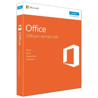 Office 2016 pro domácnosti CZ