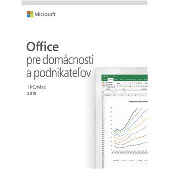 Office 2019 pro domácnosti a podnikatele SK