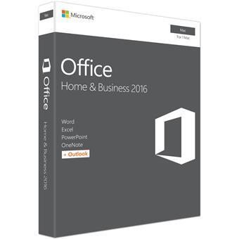 Office Mac 2016 pro domácn. a podnikatele CZ