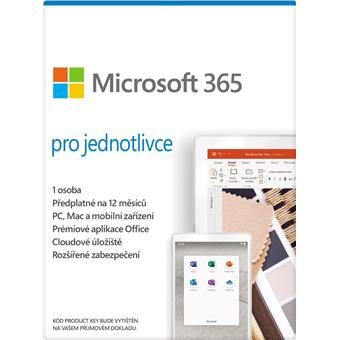 ESD Office 365 Personal Mac/Win All Lng 1YR
