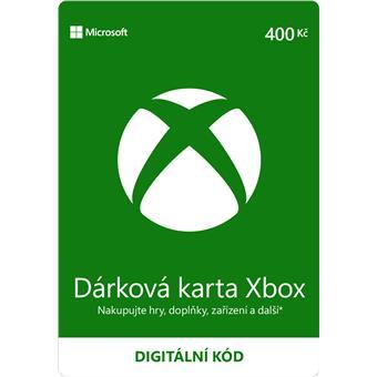 ESD XBOX - Dárková karta Xbox 400 Kč