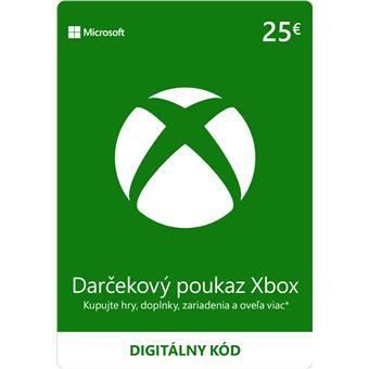 ESD XBOX - Dárková karta Xbox 25 EUR