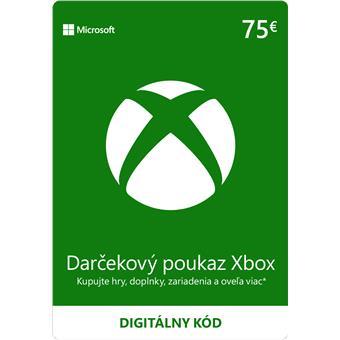 ESD XBOX - Dárková karta Xbox 75 EUR
