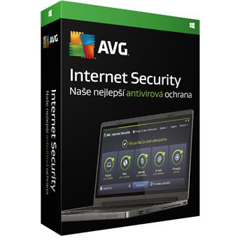 AVG Internet Security for Windows 5 PCs (1 year)