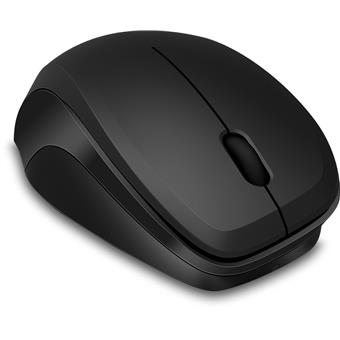 LEDGY Mouse - Wireless, Silent, black-black
