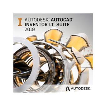 Autocad Inventor LT Suite 2020 Commercial New Single-user ELD 1-Year Subscription