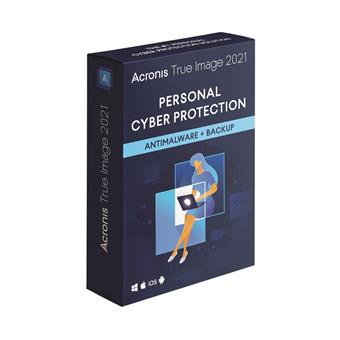 Acronis True Image 2021 - 3 Computers - BOX