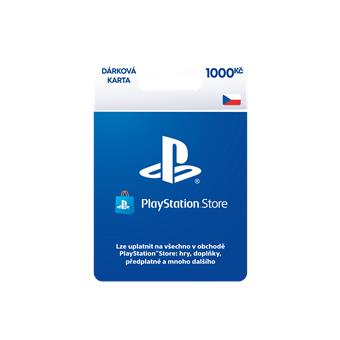 PlayStation Live Cards 1000Kč Hang - pouze pro CZ PS Store