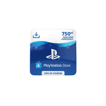 ESD CZ - PlayStation Store el. peněženka - 750 Kč