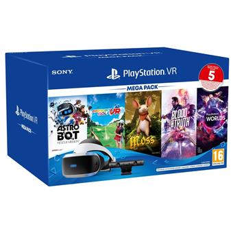 PS4 - PSVR Mega3 + VR kamera + 5 her