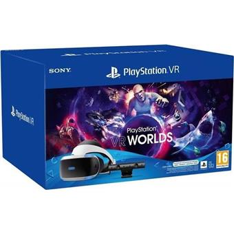 PS4 - PSVR headset Mk5 + kamera + VR Wolds