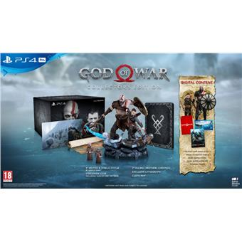 PS4 - God of War collection edition - 20.4.