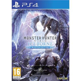 PS4 - Monster Hunter World: Iceborne Master Edition
