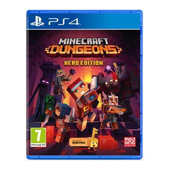 PS4 - Minecraft Dungeons ( Hero Edition )