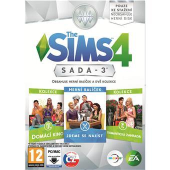 PC CD - The Sims 4 Bundle Pack 3 - vychází 9.6.2016