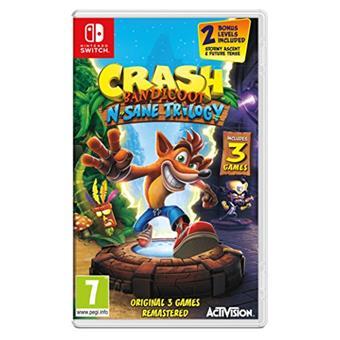 NS - Crash Bandicoot N. Sane Trilogy