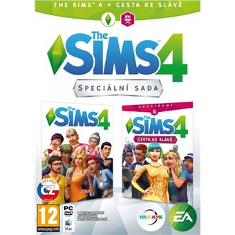 PC - The Sims 4 + Cesta ke slávě - bundle
