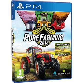 PS4  - Pure Farming 2018