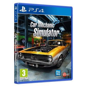 PS4 - Car Mechanic Sim 2018