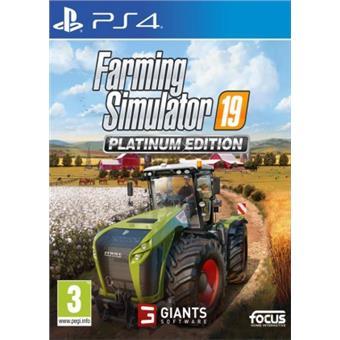 PS4 - Farming Simulator 19: Platinum Edition