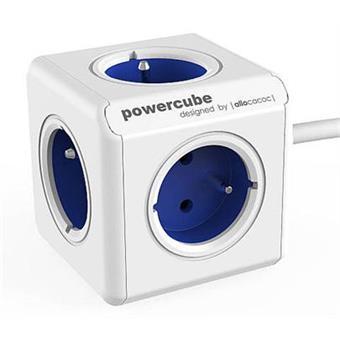 Zásuvka prodluž. PowerCube EXTENDED, Blue, 5-ti rozbočka, kabel 1,5m