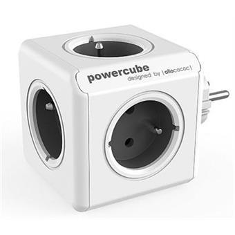 Zásuvka PowerCube ORIGINAL, Grey, 5-ti rozbočka