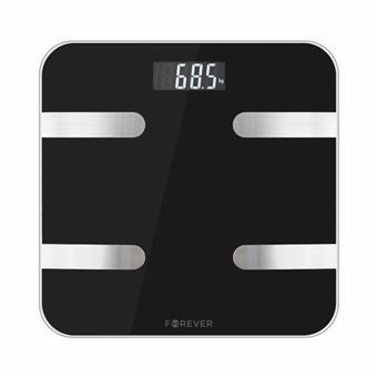 Osobní bluetooth váha Forever AS-100 černá