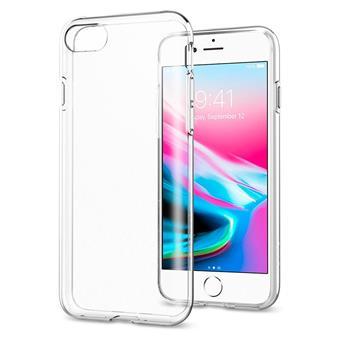 OCHRANNÝ KRYT (TPU) SPIGEN  Liquid Crystal PRO APPLE iPHONE 7/8 - transparentní