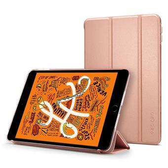 Ochranné pouzdro Spigen Smart Fold Case pro Apple iPad mini 5 2019 zlatorůžové
