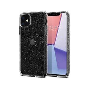 Ochranný kryt Spigen Liquid Crystal Glitter pro Apple iPhone 11 transparentní