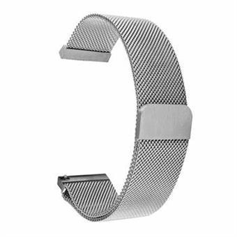 Tactical 640 Loop Magnetický Kovový Řemínek 20mm Silver