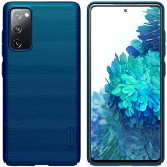 Nillkin Frosted Kryt Samsung S20 FE Peacock Blue