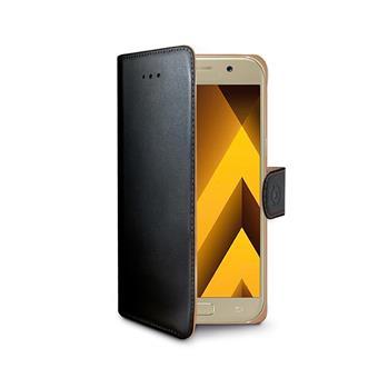 Pouzdro typu kniha Wallet  Galaxy A5 (2017), černé